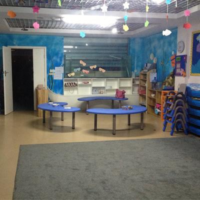 中央特区幼儿园塑胶地板